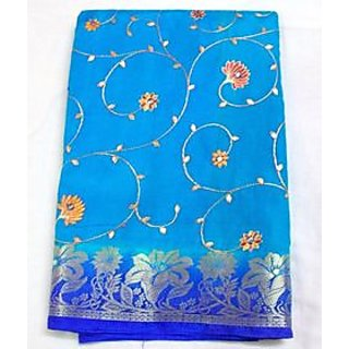 Saree Material Dress  For Women