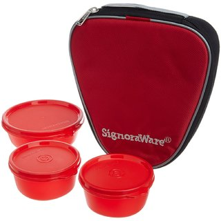 SIGNORAWARE 531 SLEEK LUNCH RED