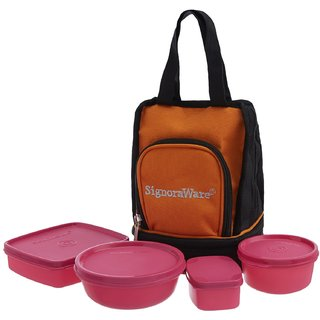 SIGNORAWARE 536 CARRY LUNCH PINK
