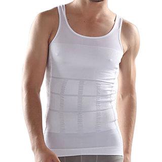 Laceandme Slimming Tummy Tucker Body Shaper Undershirt Men's Vest