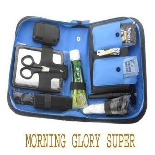 (MORNING GLORY SUPER) Shaving Kit Travel Bag Pack Mens