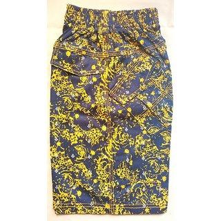Boys Printed Shorts Yellow