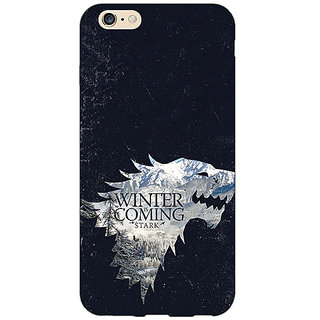 EYP Game Of Thrones GOT House Stark  Back Cover Case For Apple iPhone 6 Plus 170131