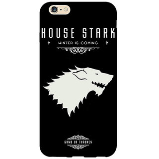 EYP Game Of Thrones GOT House Stark  Back Cover Case For Apple iPhone 6 Plus 170132