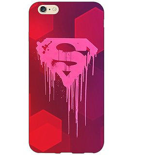 EYP Superheroes Superman Back Cover Case For Apple iPhone 6 Plus 170380