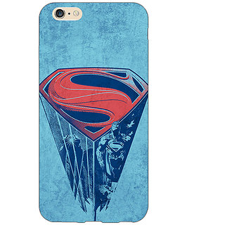 EYP Superheroes Superman Back Cover Case For Apple iPhone 6 Plus 170387