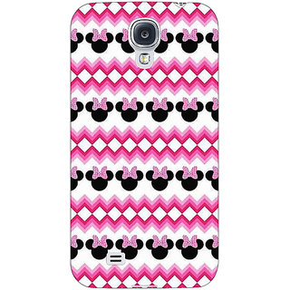 EYP Minnie Mouse Pattern Back Cover Case For Samsung Galaxy S4 Mini I9192 161435