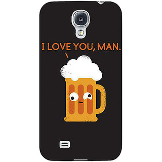 EYP Beer Quotes Back Cover Case For Samsung Galaxy S4 Mini I9192 161447