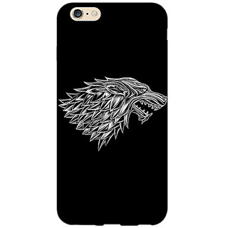 EYP Game Of Thrones GOT House Stark  Back Cover Case For Apple iPhone 6 Plus 170136