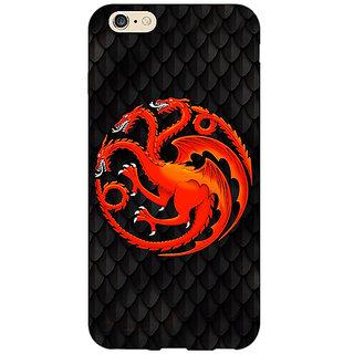 EYP Game Of Thrones GOT House Targaryen  Back Cover Case For Apple iPhone 6 Plus 170138