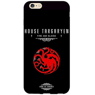 EYP Game Of Thrones GOT House Targaryen  Back Cover Case For Apple iPhone 6 Plus 170144