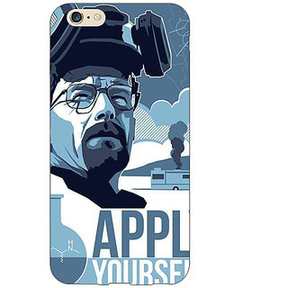 EYP Breaking Bad Heisenberg Back Cover Case For Apple iPhone 6 Plus 170424