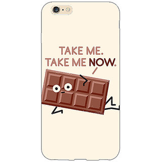 EYP Chocolate Quote Back Cover Case For Apple iPhone 6 Plus 171451