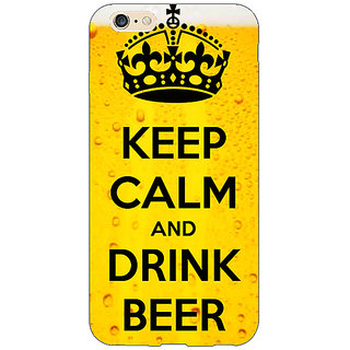 EYP Beer Quote Back Cover Case For Apple iPhone 6 Plus 171258