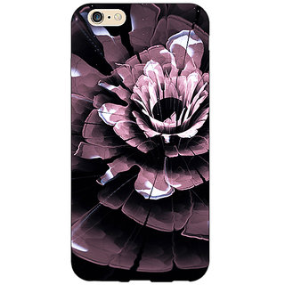 EYP Abstract Flower Pattern Back Cover Case For Apple iPhone 6 Plus 171522