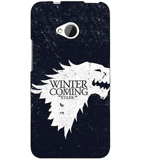 EYP Game Of Thrones GOT House Stark  Back Cover Case For HTC One M7 190135