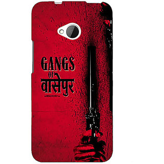 EYP Bollywood Superstar Gangs Of Wasseypur Back Cover Case For HTC One M7 191103
