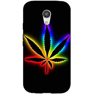 EYP Weed Marijuana Back Cover Case For Moto G (2nd Gen) 200492
