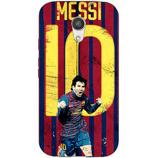 EYP Barcelona Messi Back Cover Case For Moto G (2nd Gen) 200528