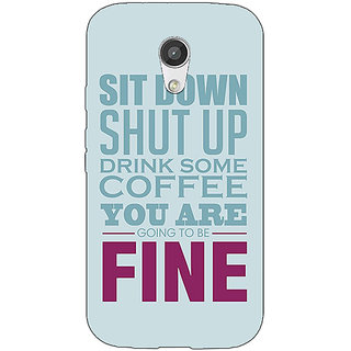 EYP Quote Back Cover Case For Moto G (2nd Gen) 201346