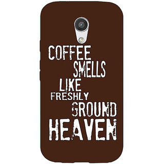 EYP Coffee Quote Back Cover Case For Moto G (2nd Gen) 201221