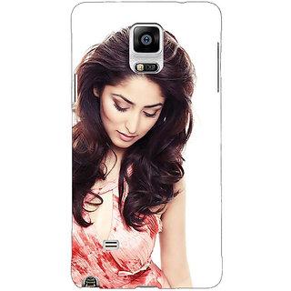 EYP Bollywood Superstar Yami Gautam Back Cover Case For Samsung Galaxy Note 4 211043