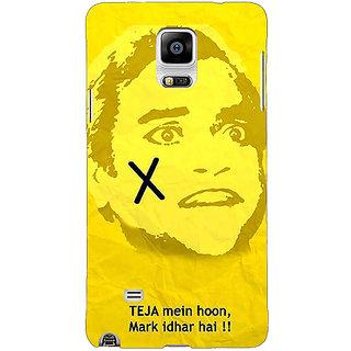 EYP Bollywood Superstar Andaz Apna Apna Teja Back Cover Case For Samsung Galaxy Note 4 211078