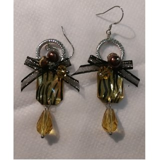 Brown Color Dangler / Earring
