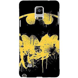 EYP Superheroes Batman Dark knight Back Cover Case For Samsung Galaxy Note 4 210011