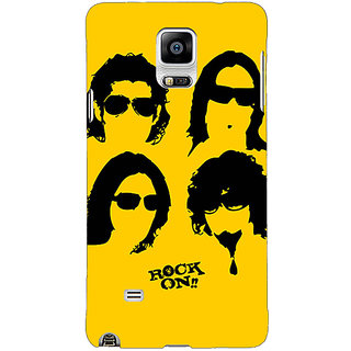 EYP Bollywood Superstar Rock On Back Cover Case For Samsung Galaxy Note 4 211098