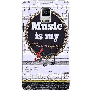 EYP Music Quote Back Cover Case For Samsung Galaxy Note 4 211402