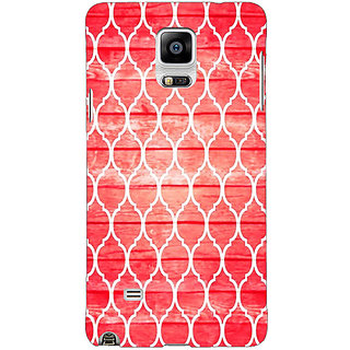 EYP Morocco Pattern Back Cover Case For Samsung Galaxy Note 4 211411