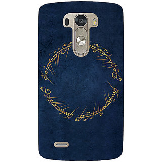 EYP LOTR Hobbit  Back Cover Case For Lg G3 D855 220371