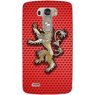 EYP Game Of Thrones GOT House Lannister  Back Cover Case For Lg G3 D855 220155