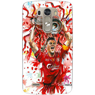 EYP Liverpool Gerrard Back Cover Case For Lg G3 D855 220550