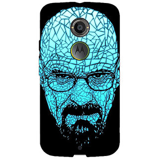 EYP Breaking Bad Heisenberg Back Cover Case For Moto X (2nd Gen) 230428