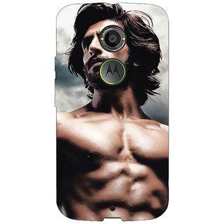 EYP Bollywood Superstar Ranveer Singh Back Cover Case For Moto X (2nd Gen) 230950