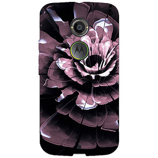 EYP Abstract Flower Pattern Back Cover Case For Moto X (2nd Gen) 231522