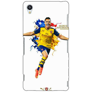 EYP Arsenal Back Cover Case For Sony Xperia Z3 260511