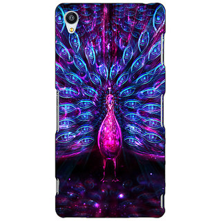 EYP Paisley Beautiful Peacock Back Cover Case For Sony Xperia Z3 261600