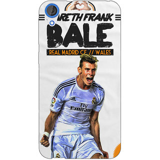 EYP Real Madrid Bale Back Cover Case For HTC Desire 820 280585