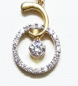 Veenaai Silver Pendant Without Chain