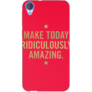 EYP Quotes Beautiful Back Cover Case For HTC Desire 820 281191