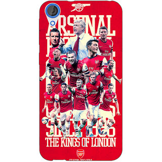 EYP Arsenal Back Cover Case For HTC Desire 820 280518