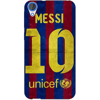 EYP Barcelona Messi Back Cover Case For HTC Desire 820 280523