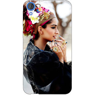 EYP Bollywood Superstar Sonam Kapoor Back Cover Case For HTC Desire 820Q 290984