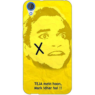 EYP Bollywood Superstar Andaz Apna Apna Teja Back Cover Case For HTC Desire 820 281078