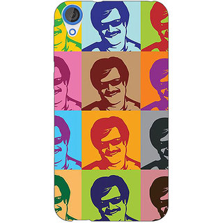 EYP Bollywood Superstar Rajinikanth Back Cover Case For HTC Desire 820 281119