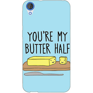 EYP Quotes Better half Back Cover Case For HTC Desire 820 281140