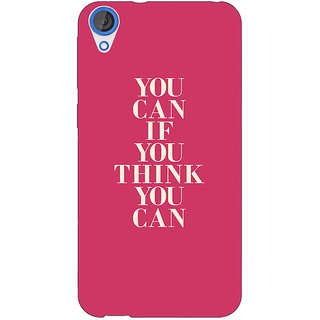 EYP Quotes Back Cover Case For HTC Desire 820Q 291193